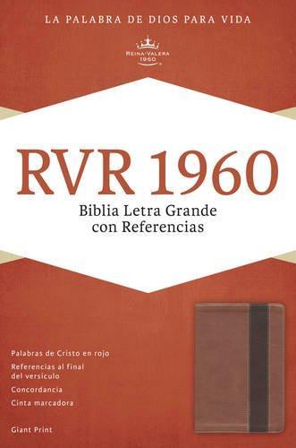 RVR 1960 Biblia Letra Grande con referencia - Cobre