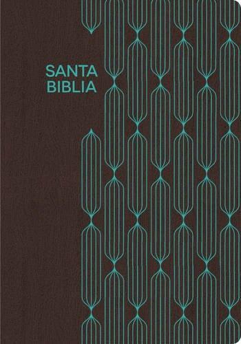 RVR 1960 Biblia para regalos y premios - cafe/turquesa