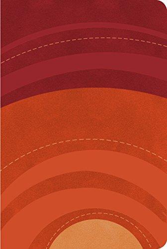RVR 1960 Biblia Letra Grande tamano manual rojo/naranja