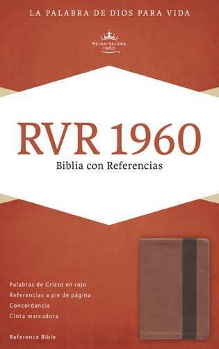 RVR 1960 Biblia con referencia cobre