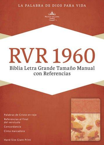 RVR 1960 Biblia Letra Grande tamano manual con referencia damasco