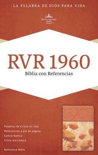 RVR 1960 Biblia con referencia damasco/coral