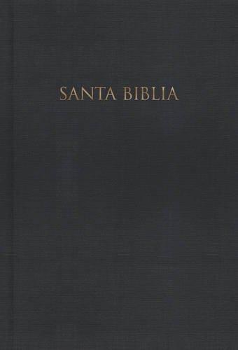 RVR 1960 Biblia Letra Grande con referencia - Negro tapa dura