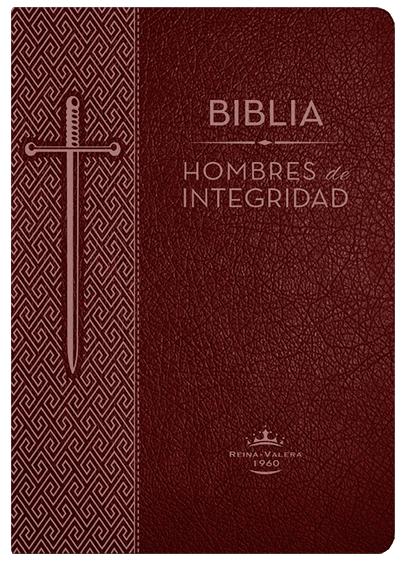 Biblia Hombres de Integridad, Reina-Valera 1960, piel especial, marrón