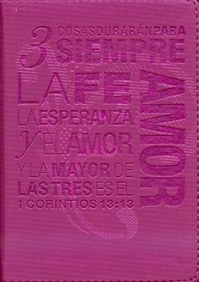 Santa Biblia NTV, Edición compacta - rosa
