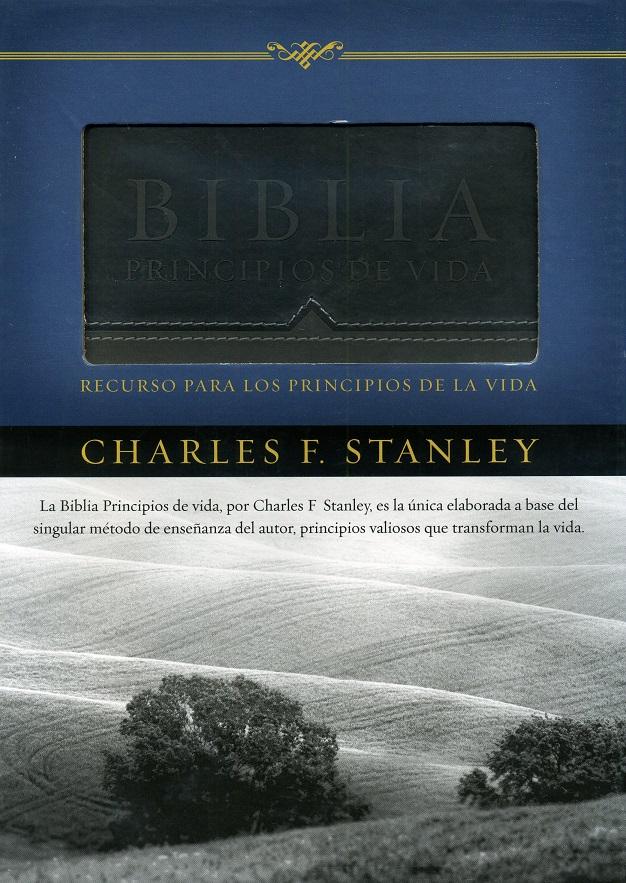 Biblia Principios De Vida Del Dr. Charles F. Stanley