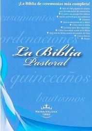 RVR60 Biblia Pastoral negro con caja