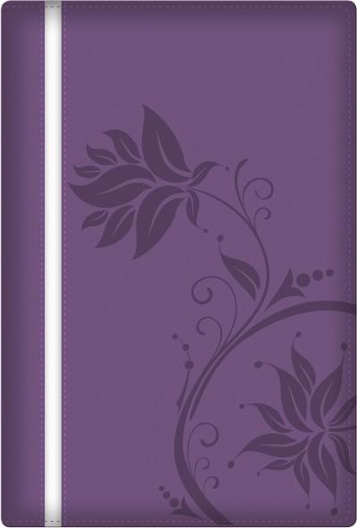 Biblia de la mujer conforme al corazón de Dios RVR60 - Morado