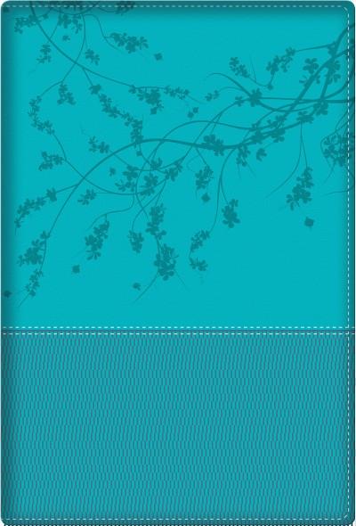 Biblia de la mujer conforme al corazón de Dios RVR60 - Turquesa