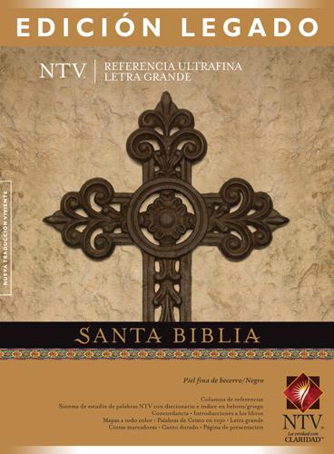 Biblia NTV Edición Legado / negro-negro