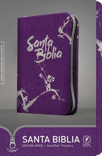 Biblia NTV Ultrafina / cierre-púrpura