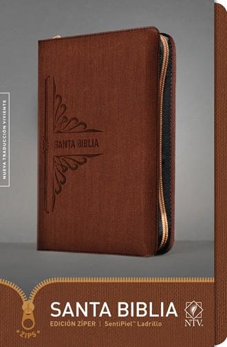 Biblia NTV Ultrafina / cierre-ladrillo