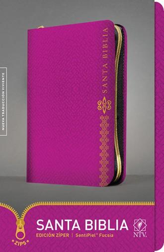 Biblia NTV Ultrafina / cierre-fucsia