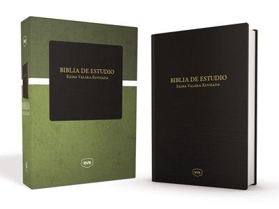 Santa Biblia de Estudio Reina Valera Revisada RVR, Piel Especial, Negro Clásico