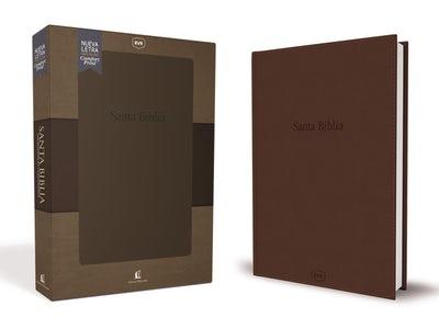 Santa Biblia Reina Valera Revisada RVR, con Referencias y Concordancia, Leathersoft, Elegante