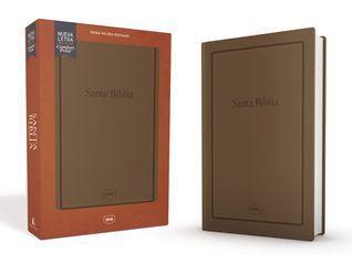 Santa Biblia Reina Valera Revisada RVR, Letra Grande, Tamaño Manual, Letra Roja, Leathersoft