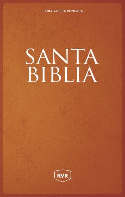 Santa Biblia Reina Valera Revisada RVR, Letra Grande, Tamaño Manual, Letra Roja, Tapa Dura