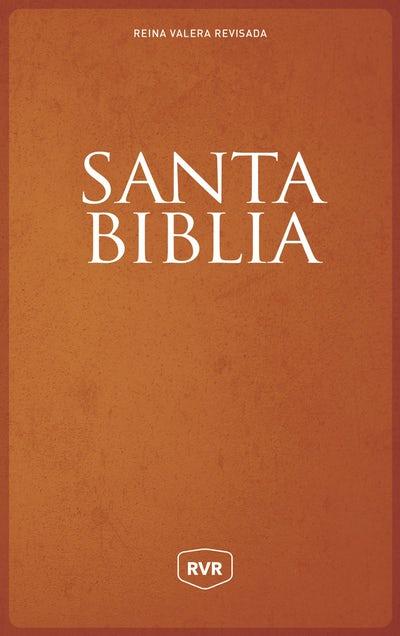 Santa Biblia Reina Valera Revisada RVR, Letra Grande, Tamaño Manual, Letra Roja, Rústica