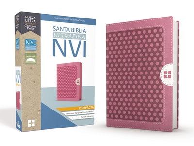 Santa Biblia NVI, Ultrafina Compacta, Rosa c/Cierre