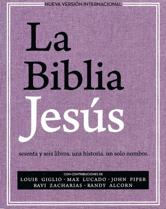 Biblia Jesús NVI, Tapa Dura, Tela Lavanda: La Biblia Jesús NVI, Tapa Dura, Tela Lavanda
