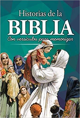 Historias de la Biblia: Con versículos para memorizar
