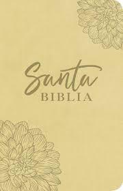 Biblia NTV, Edición ágape diseño flor