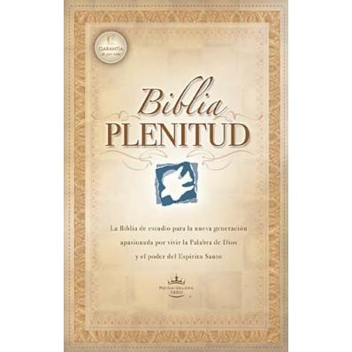 Biblia Plenitud de Estudio Tapa Dura.