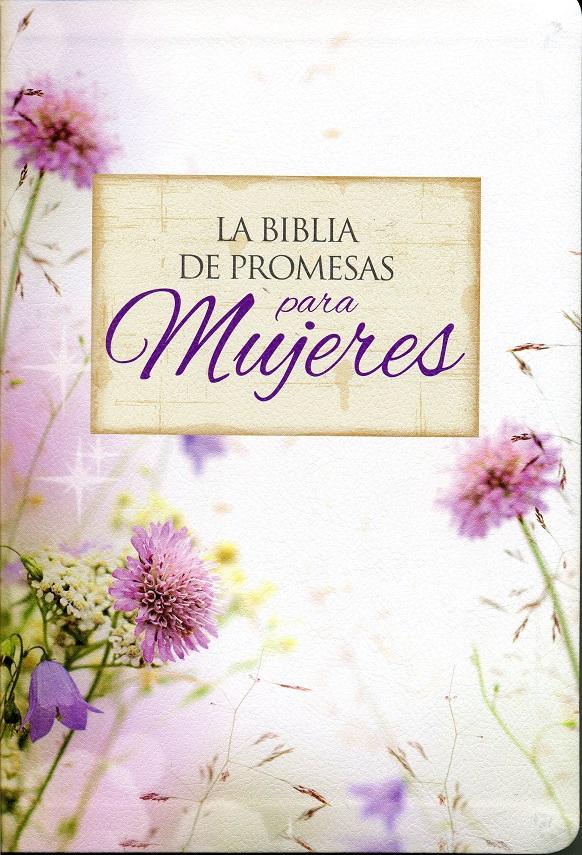Biblia de Promesas para Mujeres / compacta / Reina Valera 1960 / piel especial floral / con �ndice>