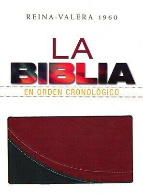 La Biblia en orden cronol�gico RVR 60 - Duo tono>