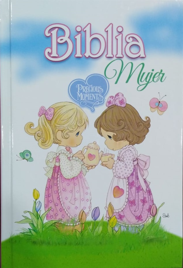 �Biblia Precious Moments Mujer / Reina Valera 1960 / Letra Grande de Life Gift Group