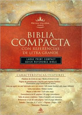 Biblia Compacta Ref Letra Grande Holman
