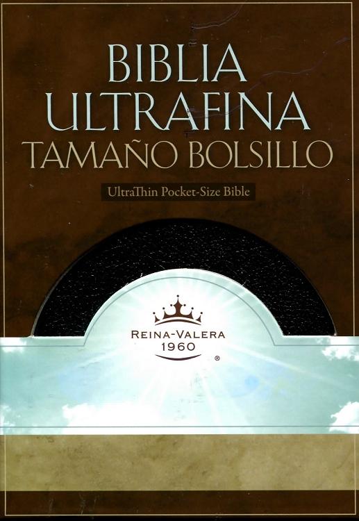 Biblia Ultra Fina Tamaño Bolsillo Indice
