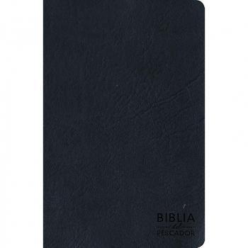 Biblia del Pescador / letra grande cuero azul>