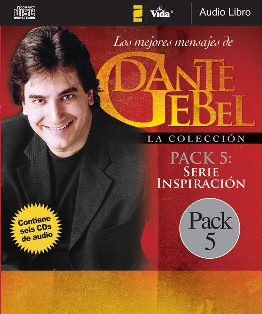 Los Mejores Mensajes de Dante Gebel: Serie Inspiración Pack 5