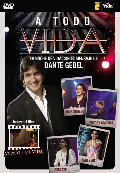 Dante Gebel A Toda Vida - DVD