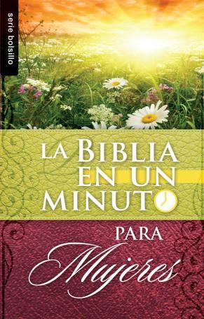 La Biblia en un minuto para mujeres