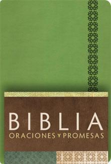 Biblia RVC Oraciones y Promesas Verde