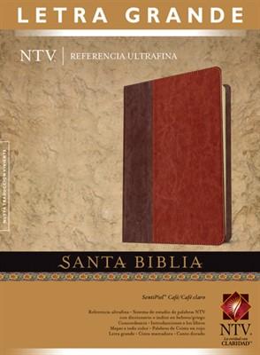 Biblia NTV Letra Grande Duotono Cafe