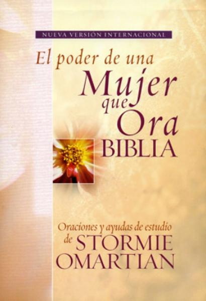 Biblia El Poder de la Mujer que Ora NVI Tapa dura>