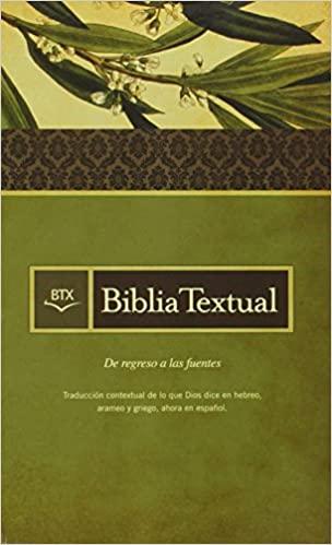 Biblia textual tapa dura de B&H Espanol