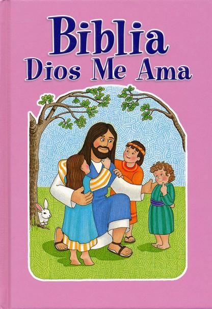 BIBLIA DIOS ME AMA / ROSA