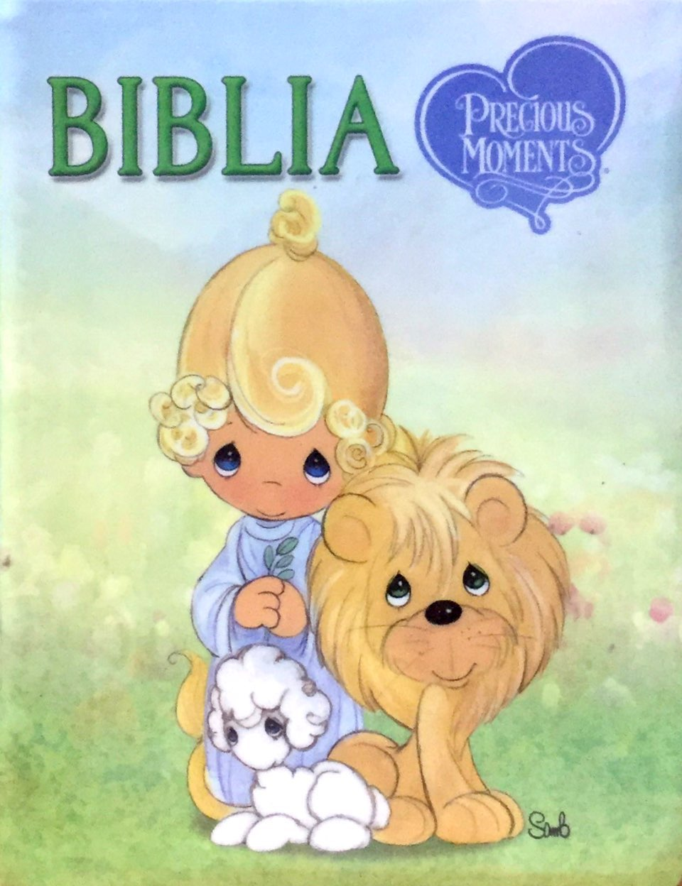 Biblia Precious Moments / Reina Valera 1960 / tama�o bolsillo / tapa vinil>
