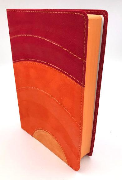 Biblia Luz RVC amarillo/naranja/amapola s�mil piel>