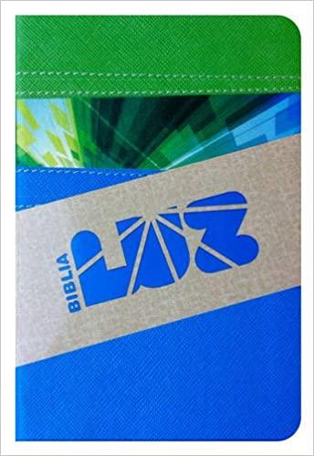 Biblia Luz RVC verde/cielo s�mil piel>
