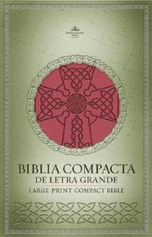 Biblia Compacta Letra Grande Rojo