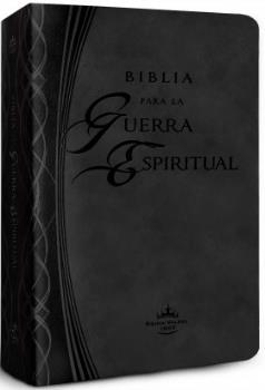 Biblia Reina Valera 1960 para la Guerra Espiritual Imitaci�n cuero color negro>
