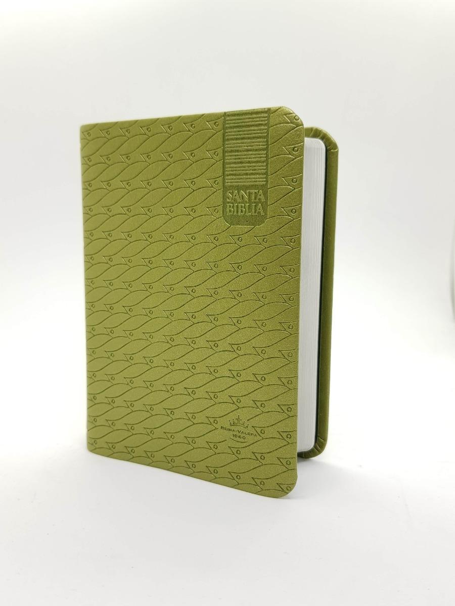Biblia Peque�a Reina Valera 1960 Cuerina Brillante Verde Claro>