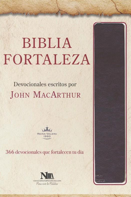 Biblia Fortaleza Reina Valera 1960 Marrón