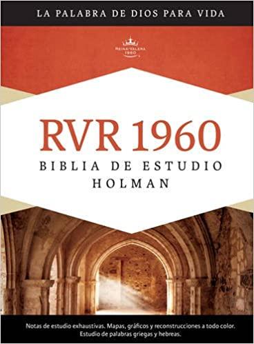 Biblia de Estudio Holman RVR 1960, tapa dura con �ndice>