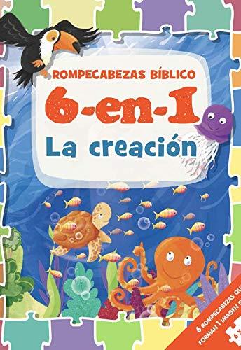 6 -en- 1 Biblia de ni�os RCB: La creaci�n (Rompecabezas B�blico 6 En 1)>